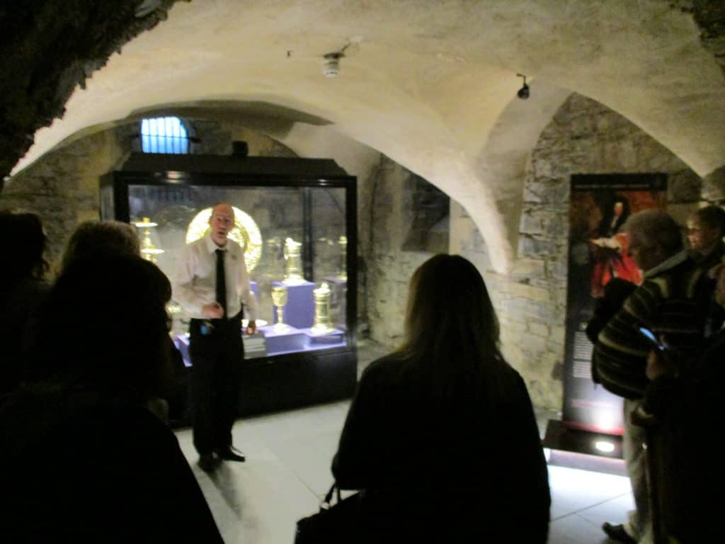 the crypt at Christchurch Cathedral, Dublin Ireland