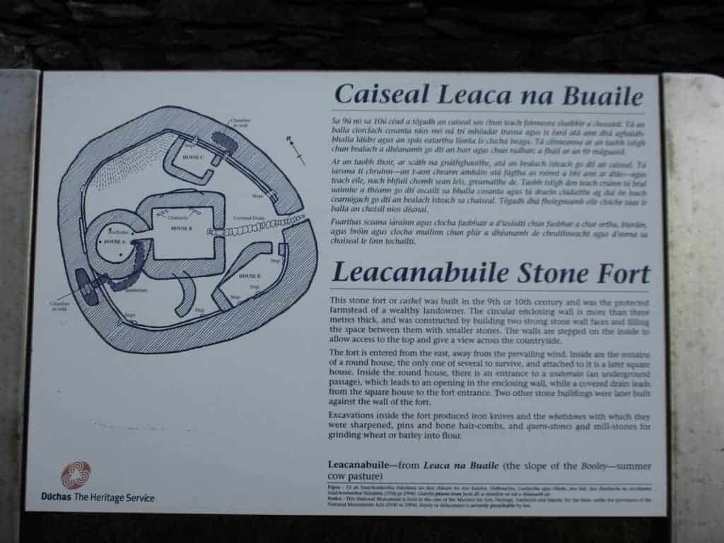 Cahergall Stone Fort, Ring of Kerry, Ireland