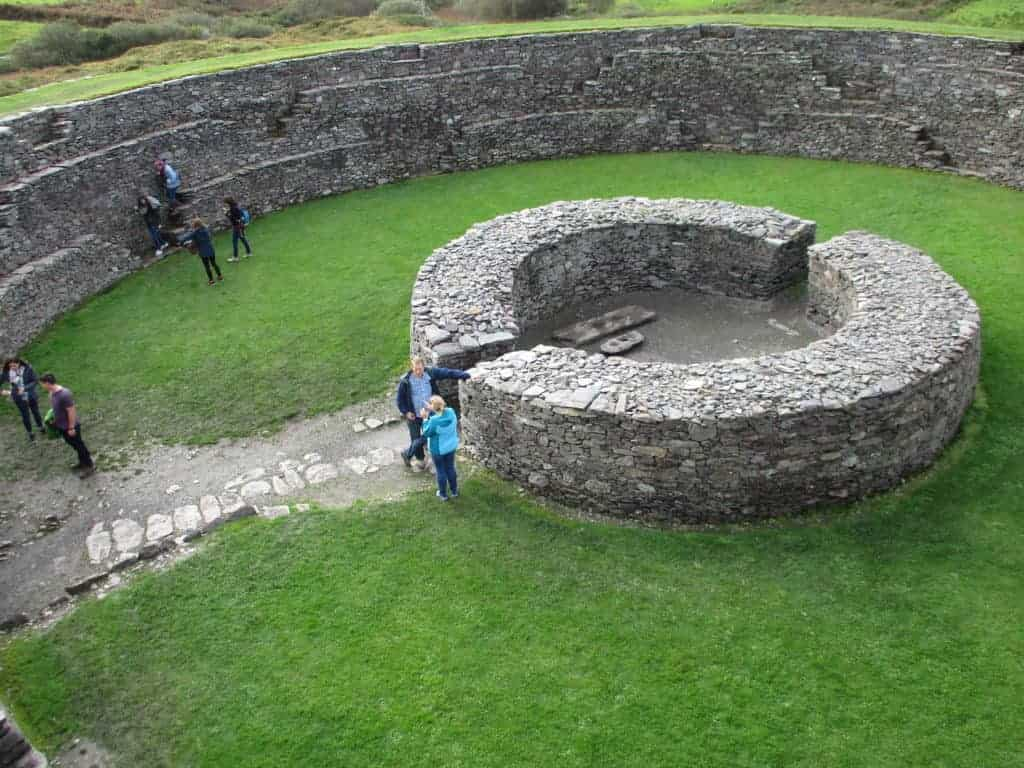 Cahergall Fort, Ring of Kerry, Ireland