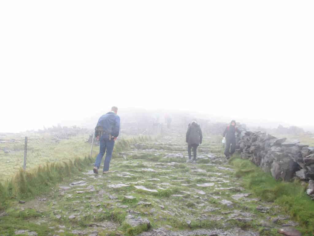 Dun Angus prehistoric stone fort, Inis Mor, Aran Islands, Ireland