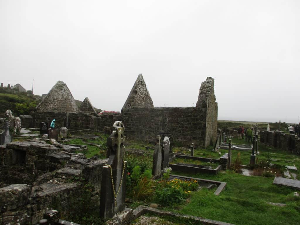 The Seven Churches, Inis Mor, Aran Islands, Ireland