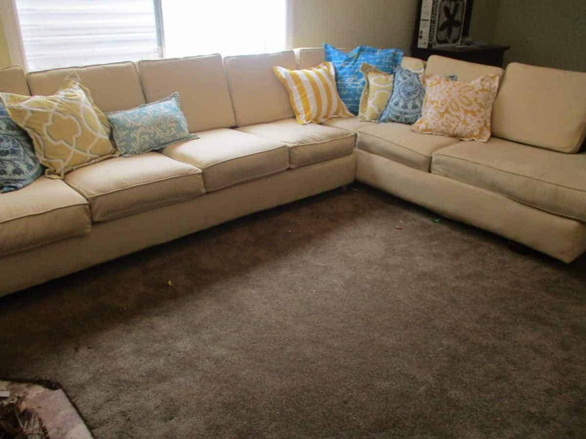 Upcycle An Old Couch Into A New Custom Sectional For Cheap Orison Orchards