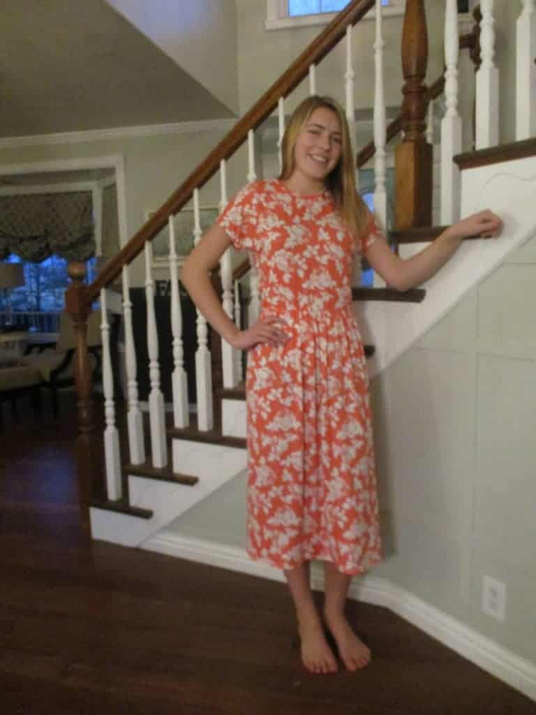 20 Minute Knit Dress