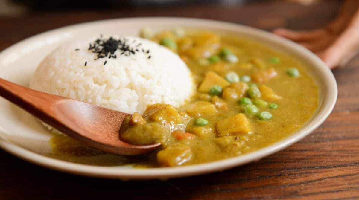 Chicken & Vegetable Curry: less than 62 cents per serving