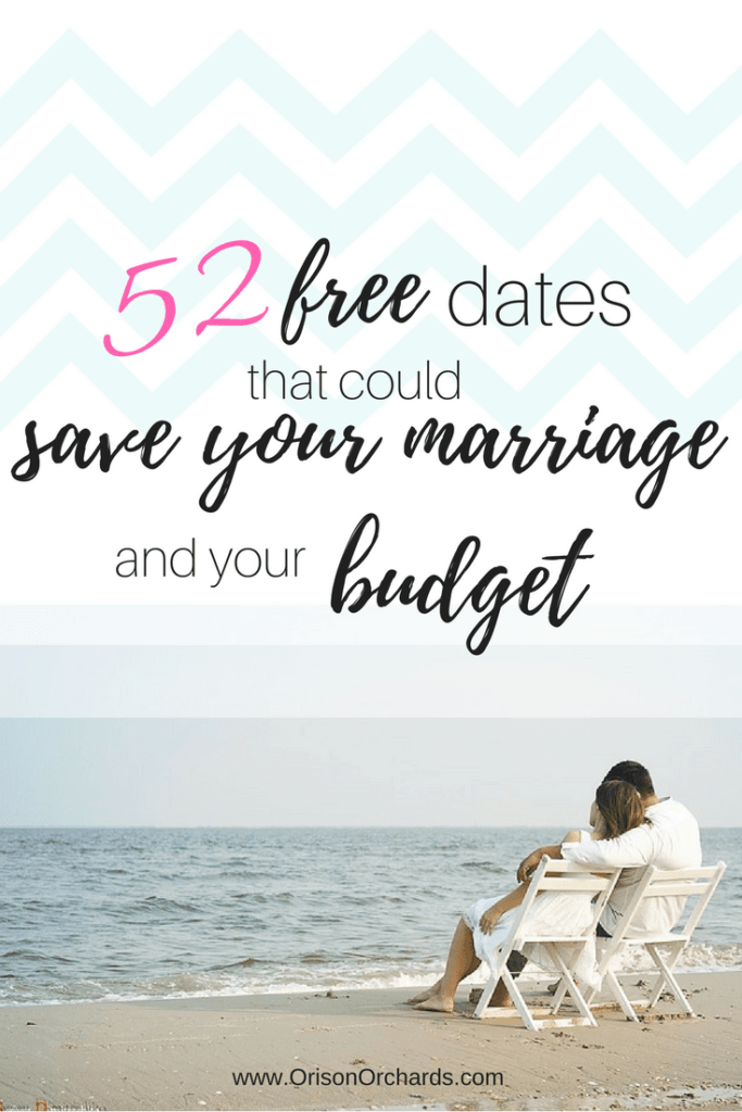 52 Free Dates that Could Save Your Marriage (and your budget!)