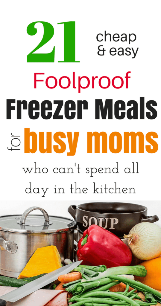 21 Foolproof Freezer Meals for Busy Moms