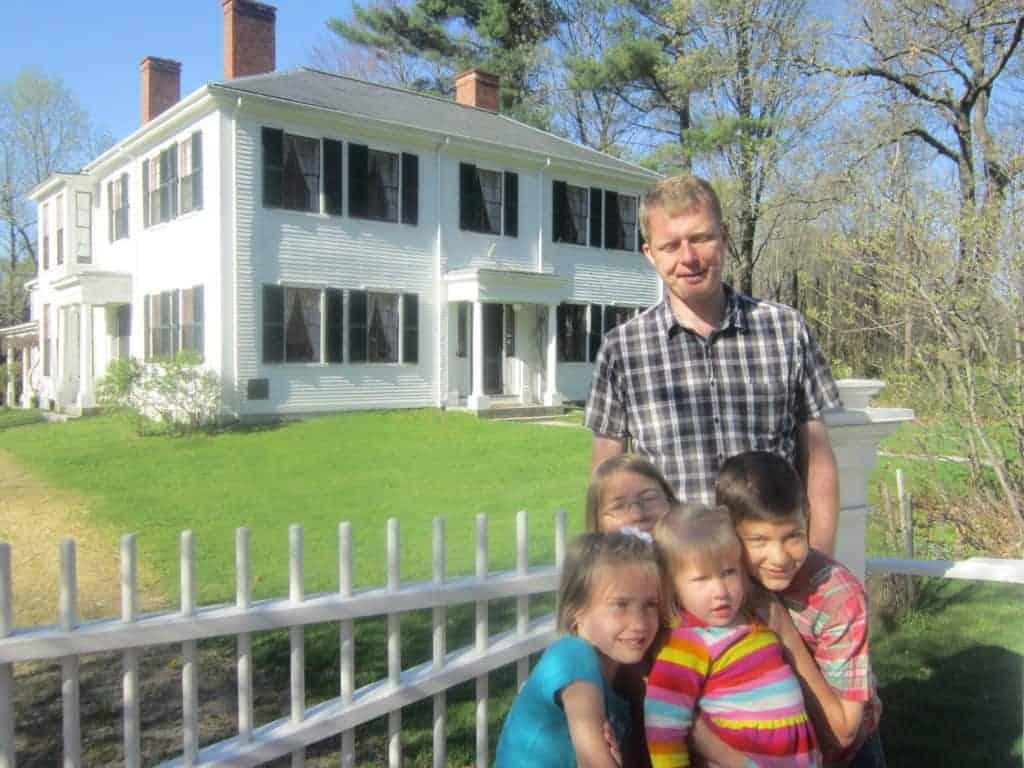 Ralph Waldo Emerson home, Concord, MA