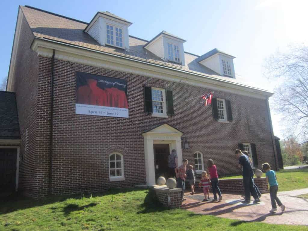 Concord Museum, MA. American history tour road trip for families with kids