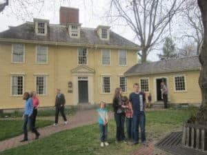 Buckman's Tavern, Lexington, MA. American history tour road trip for families with kids