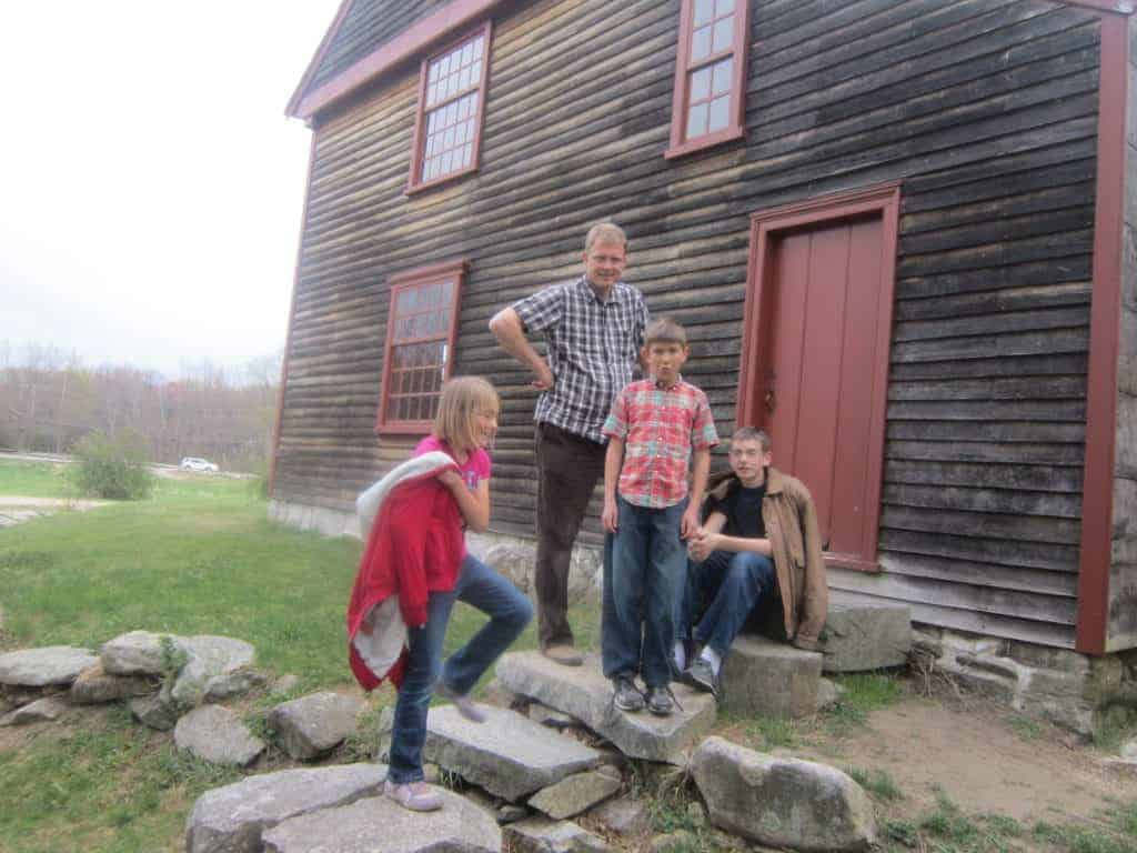 Lexington Concord, MA. American history tour road trip for families with kids