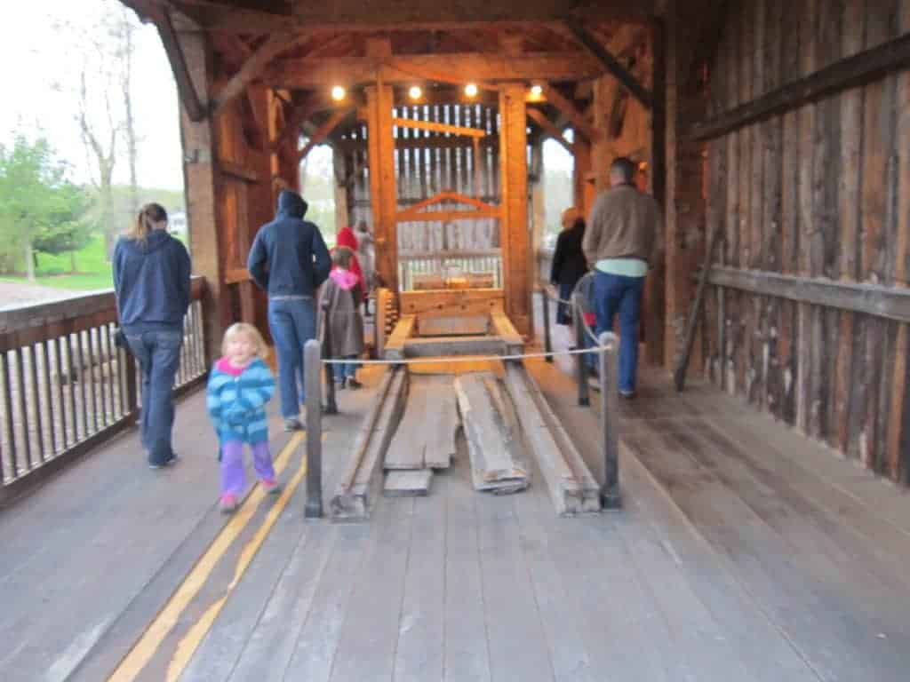 Historic Kirtland; US History road trip tour for families with kids