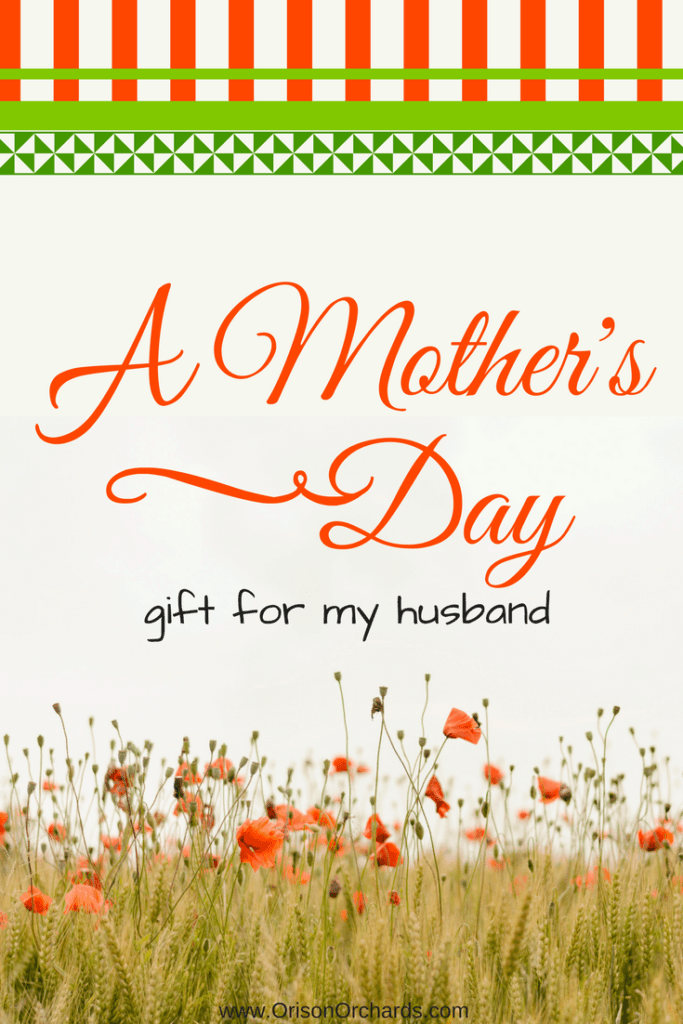 A Mother's Day Gift for my Husband