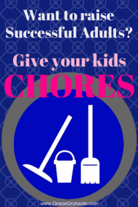 Want to raise successful adults? Give your kids chores so they can learn critical attributes