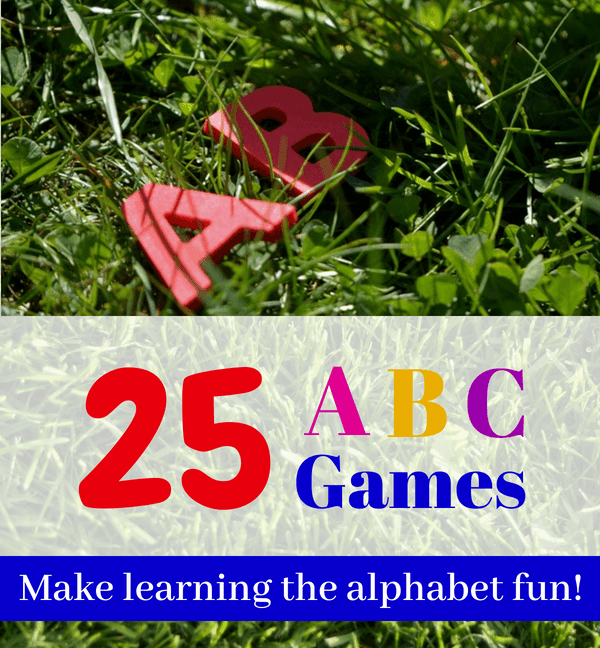 25 Games for Learning Alphabet Letters
