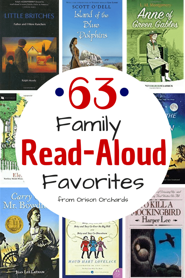 63 Family Favorites to Read Aloud
