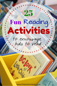 Fun reading activities to encourage kids to read