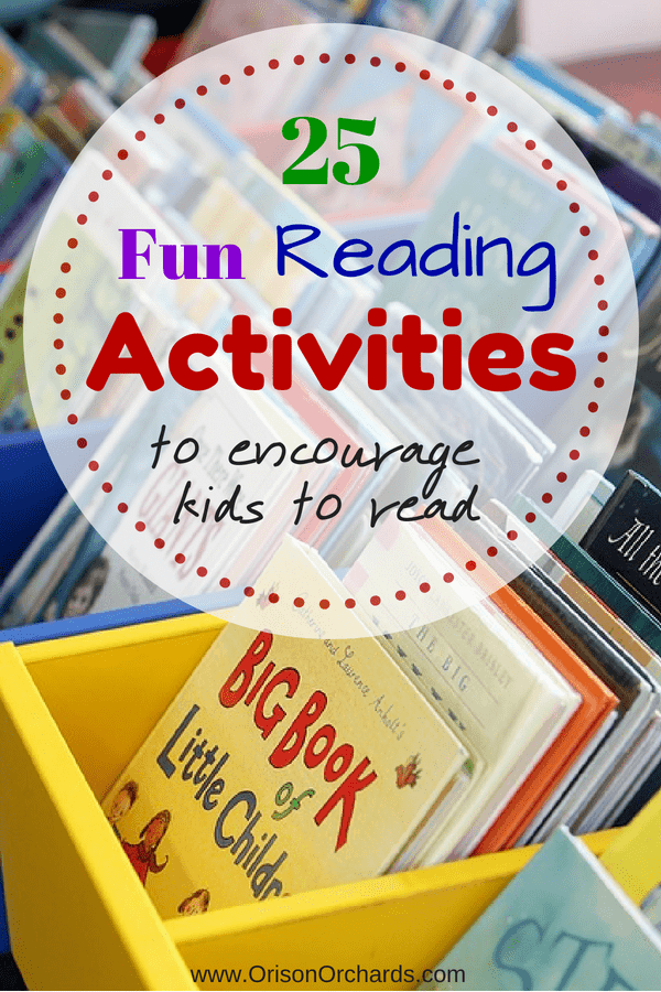 25 Fun Reading Activities to Inspire Kids