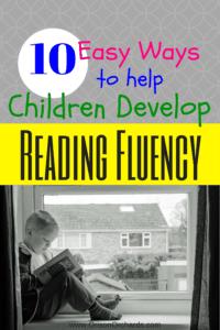 How do I teach my child reading fluency?
