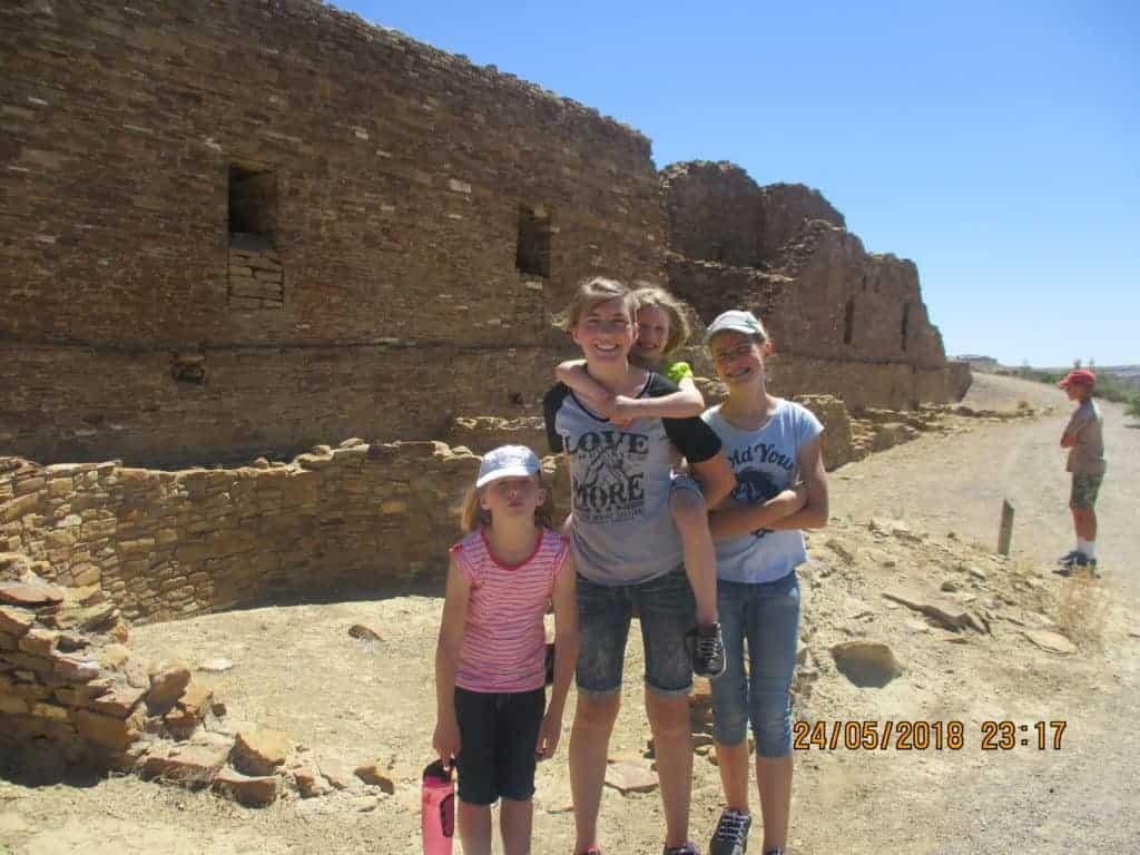 Pueblo Del Arroyo; Chaco Canyon