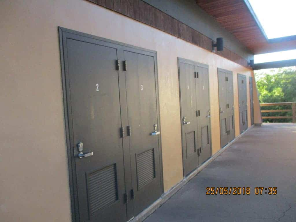 showers at Mesa Verde campground