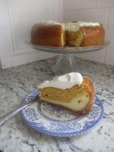 Keto Pumpkin Cheesecake; Sugar-Free and Gluten-Free