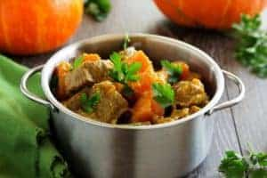 KETO pumpkin beef stew