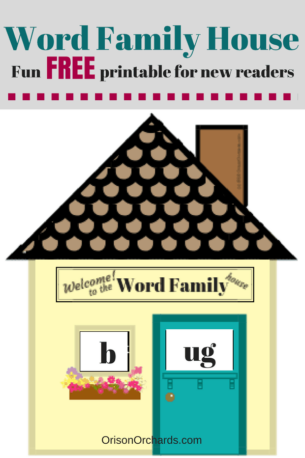 Fun With Word Families