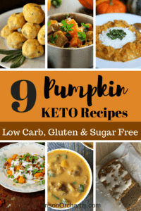 KETO Pumpkin Recipes; Pumpkin meatballs, Pumpkin Curry, Pumpkin stew, Pumpkin gnocchi