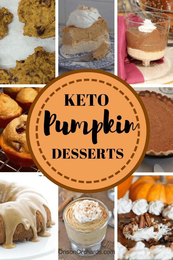 7 Keto (Gluten-Free & Sugar-Free) Pumpkin Desserts