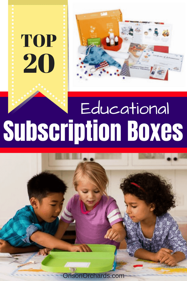 Top 20 Educational (and fun!) Subscription Boxes