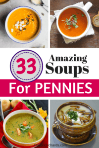 Cheap and Easy SOUP Recipes