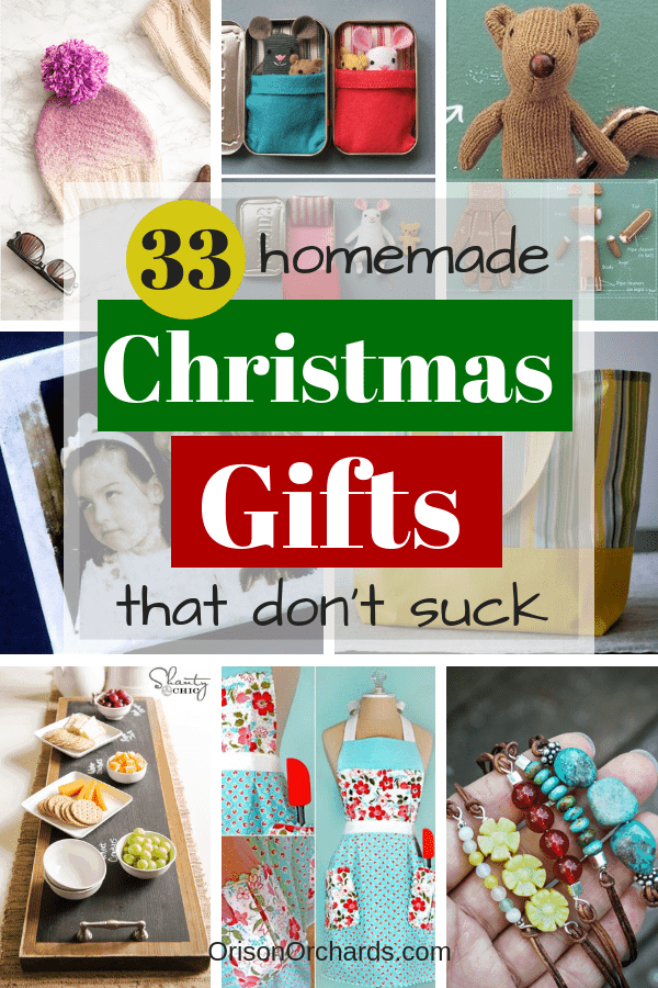 33 homemade christmas gifts that dont suck