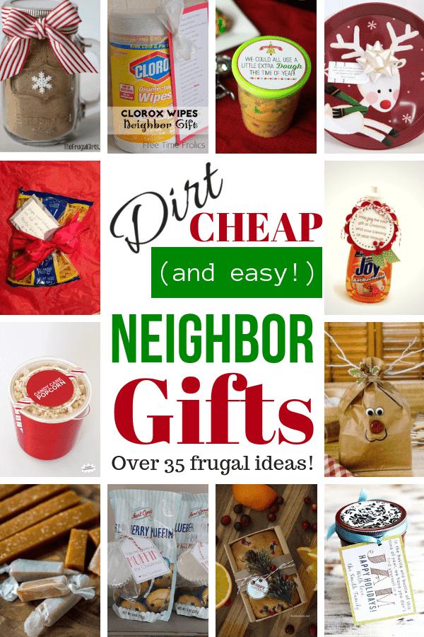 Dirt Cheap Neighbor Gifts