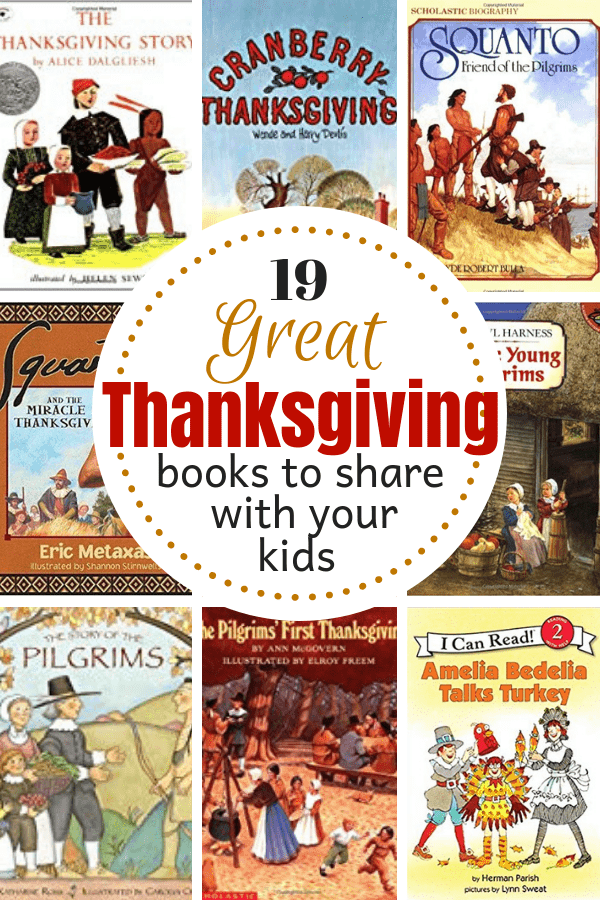19 Great Thanksgiving Books to Share With Your Kids