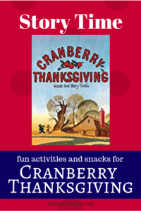 Cranberry Thanksgiving Story Time