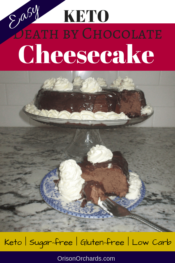 Keto Death By Chocolate Cheesecake