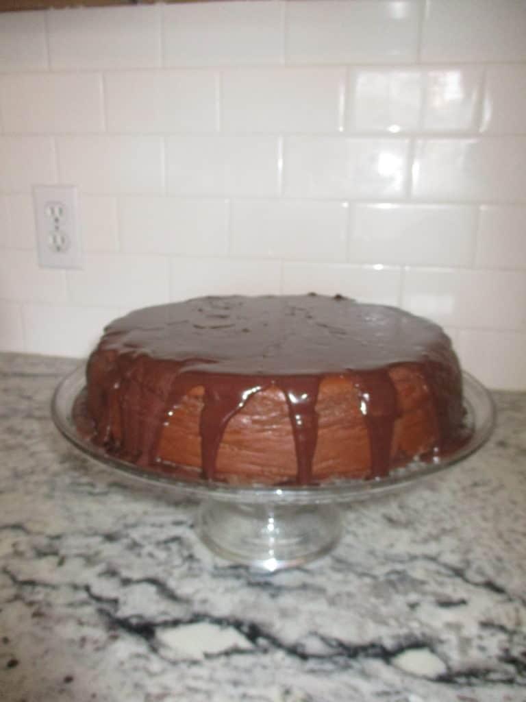 keto chocolate cheesecake