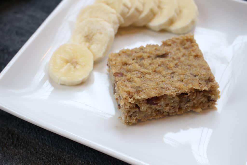 Banana Breakfast Bars