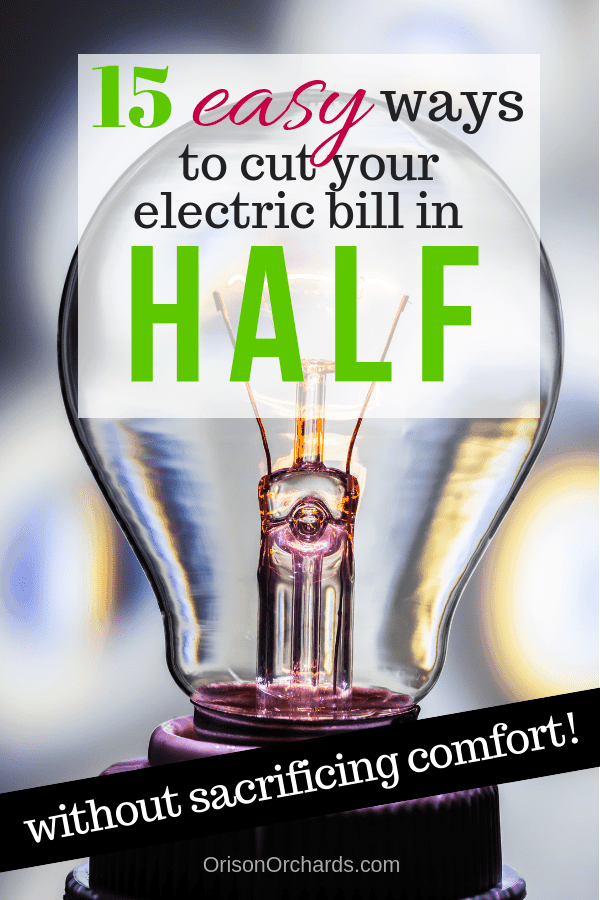 15 Easy Ways to Save on Electricity