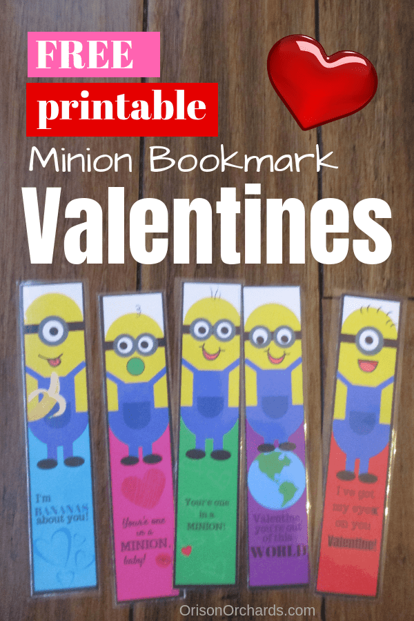 photo regarding Printable Valentines Bookmarks identified as Free of charge Printable Valentines Orison Orchards