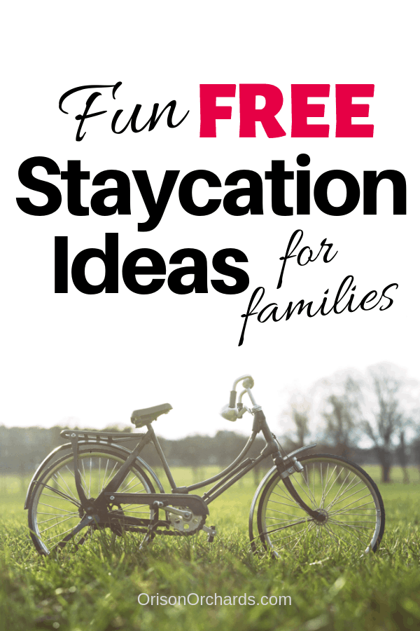 Fun, FREE Staycation Ideas For Families