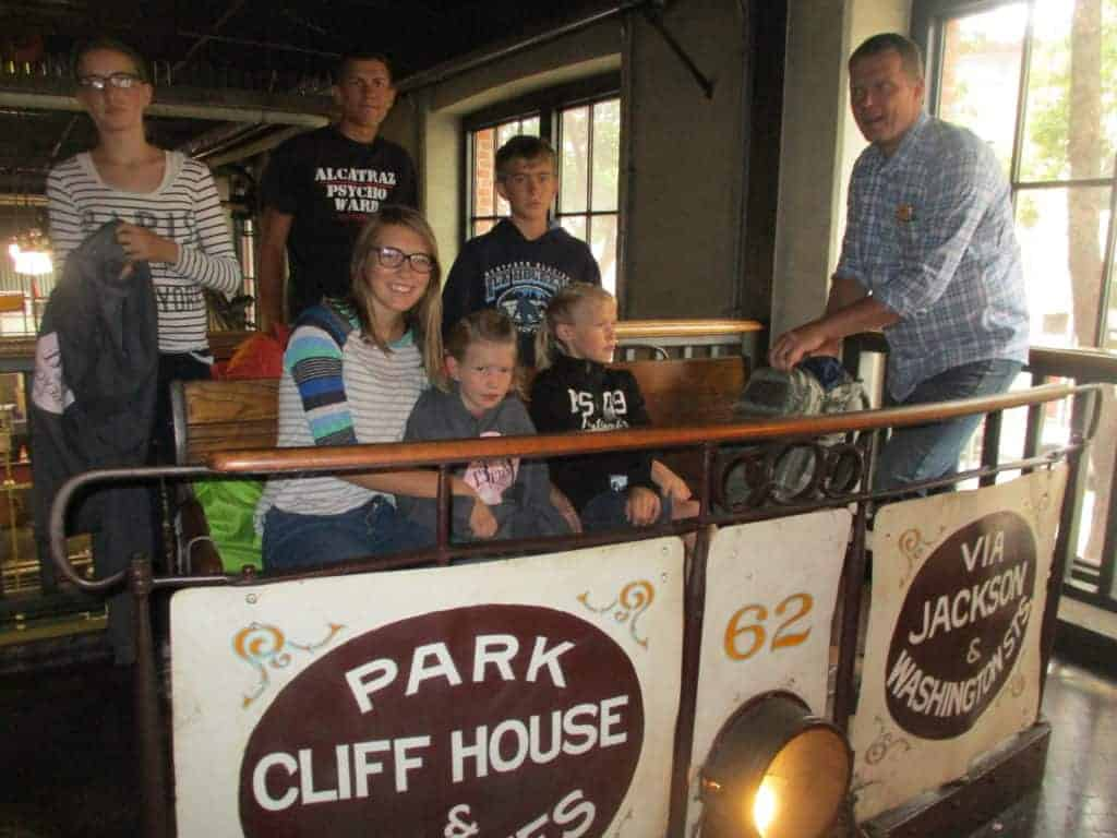 Cable Car Museum in San Francisco with kids