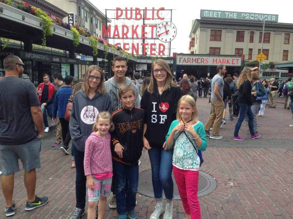Pike Place Market; Seattle with Kids