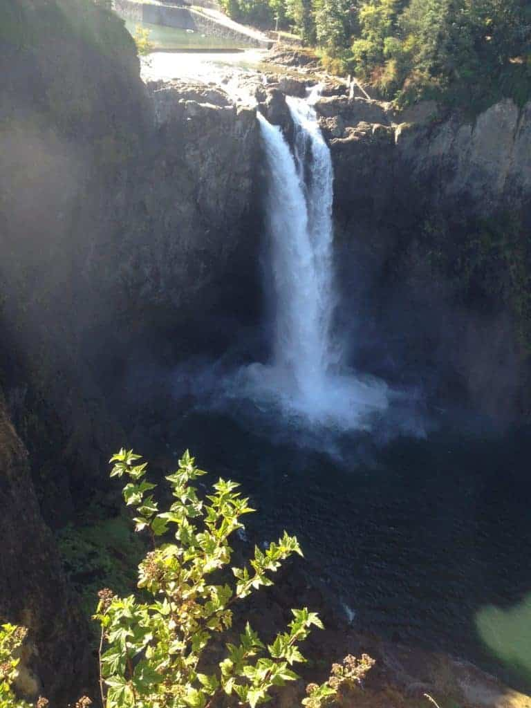 Snoqualmie Falls; Seattle with kids