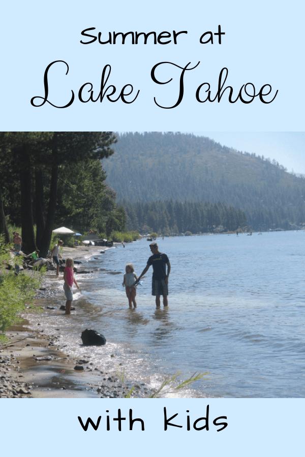 Summer at Lake Tahoe with Kids