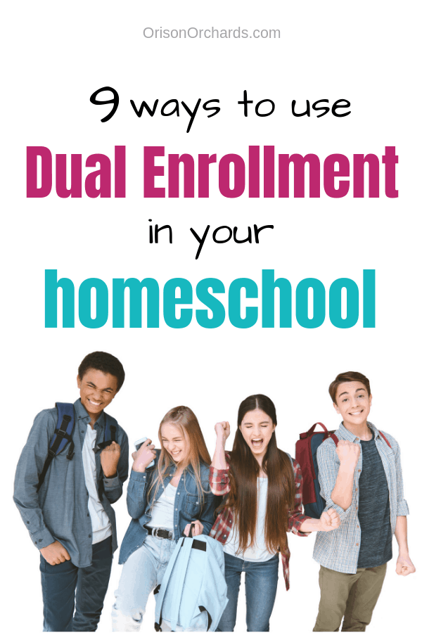 9 Ways to Use Dual Enrollment in Your Homeschool