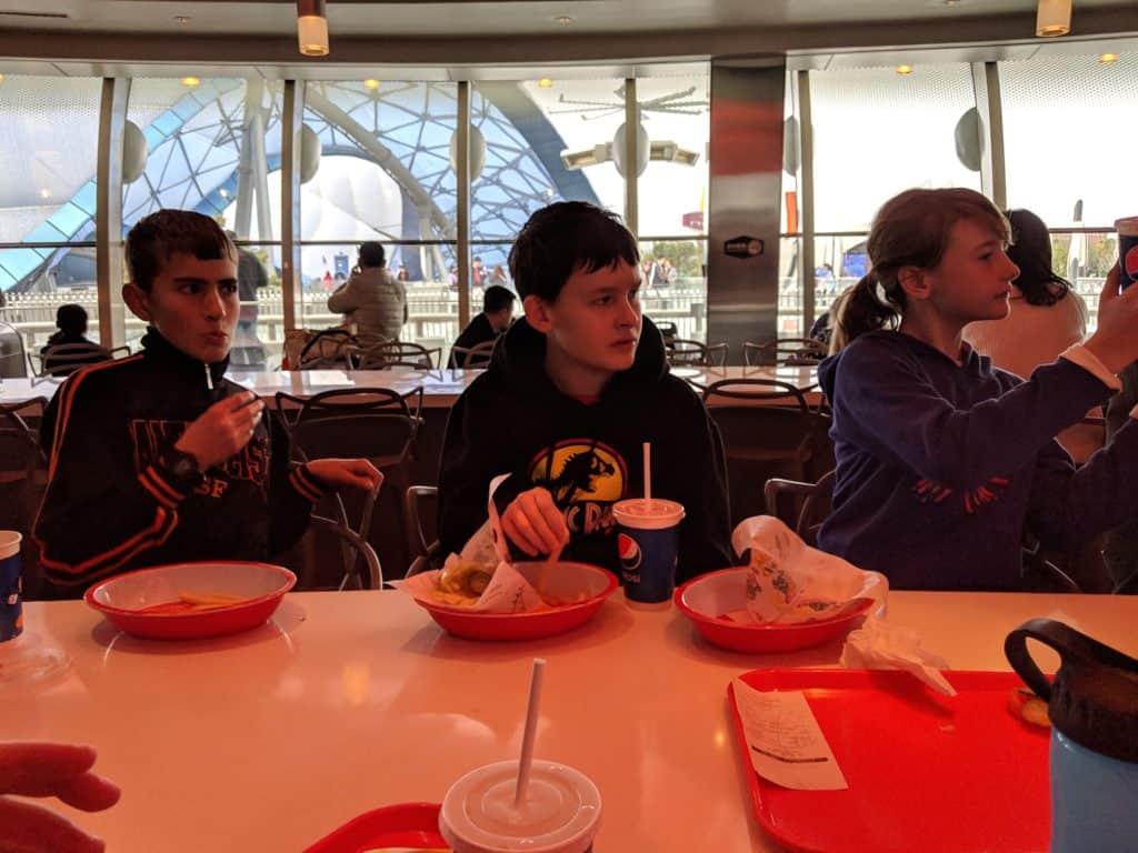 Stargazer Grill; Shanghai Disneyland