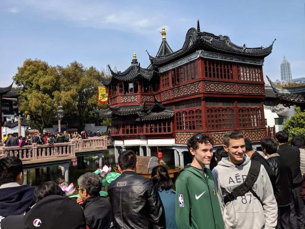 Yuyuan Gardens; Shanghai Itinerary
