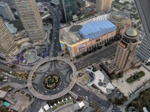 Century Overbridge; Shanghai Itinerary