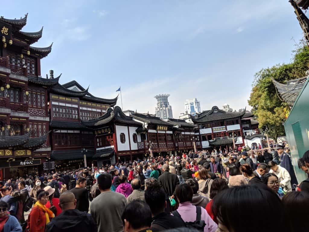 Yu Gardens; Shanghai Itinerary